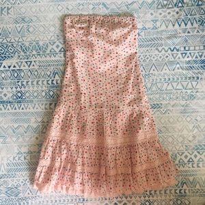 Pink Floral Kenzie Girl Dress